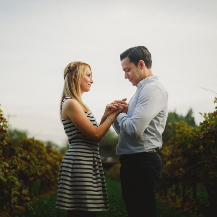Engagement / Elisa & José Juan / Viñedo Hacienda de Letras